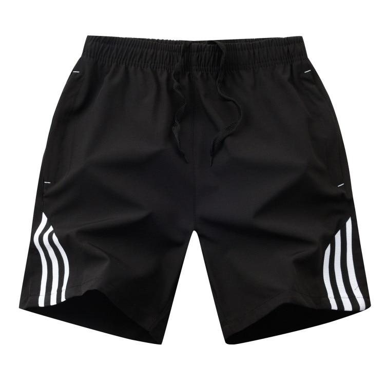 Men's Fitness Striped Shorts