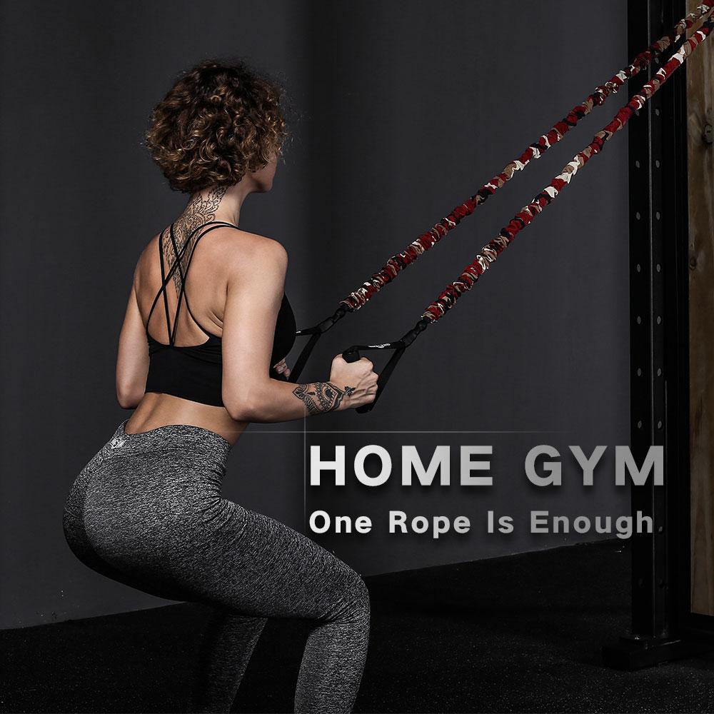 INNSTAR Full Body Training Straps Upgraded Bodyweight Fitness Resistance Trainer Kit Hanging Belt Sport Home Gym