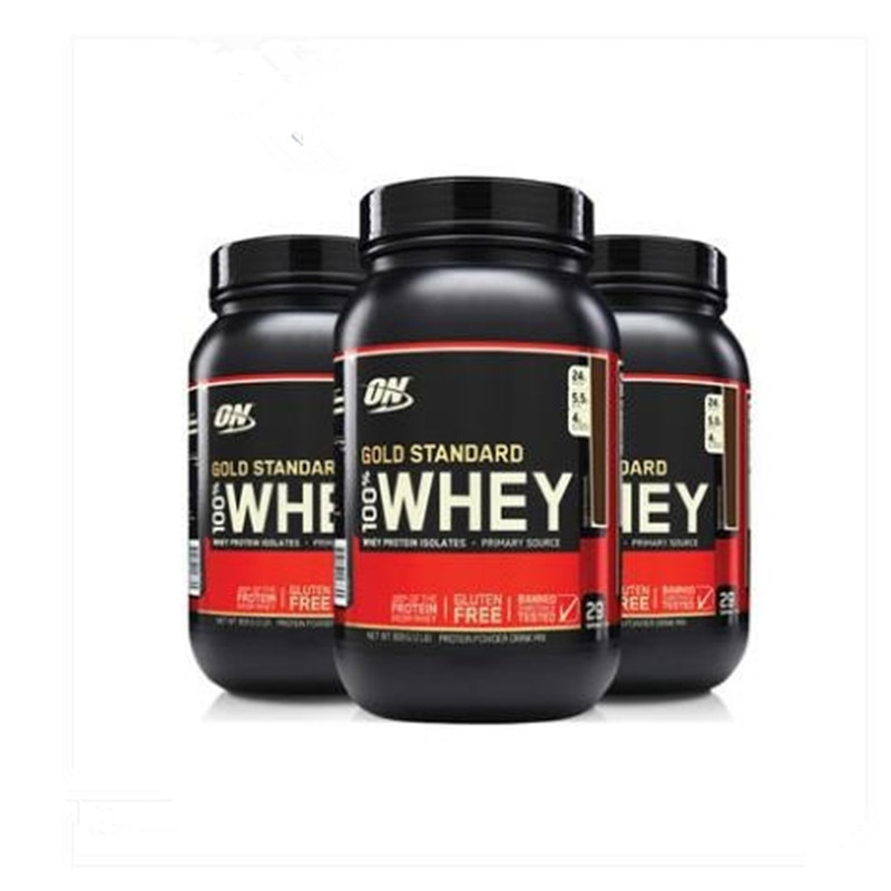 ON Optmont Gold standard whey protein powder sports supplement Nutrition Fitness Strengthening Muscle Powder WHEY 2