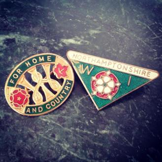 Northants federation pin badges
