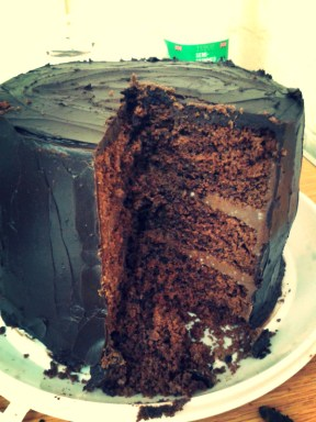 Dora's epic chocolate cake