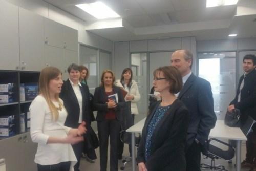 Амбасадор Француске у посети НТП Београд 1