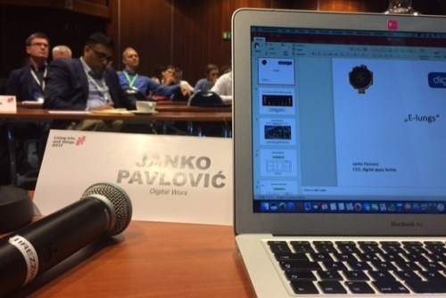 Janko Pavlović predstavio inovaciju E-Lungs