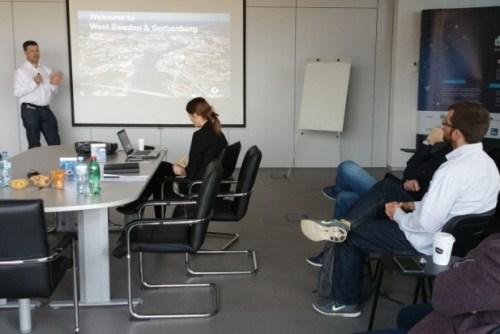 Poseta predstavnika Poslovnog regiona Geteborg IKT 1