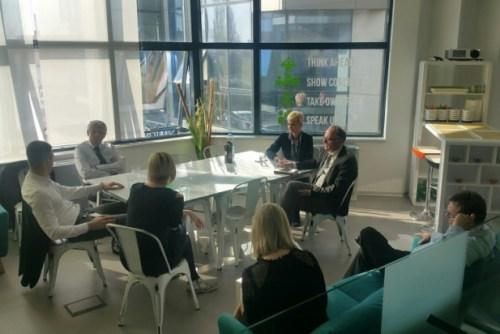 Председник швајцарске Комисије за иновације и технологију (ИКТ) посетио НТП 3