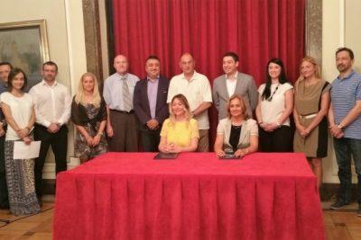 Sporazum između Grada Beograda i NTP Beograd 1