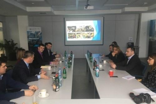 NTP Čačak u poseti NTP Beograd 2