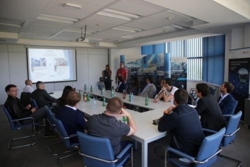 Predstavnici Confindustria Udine posetili NTP Beograd 1