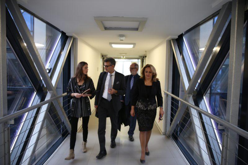 Generalni direktor Zajedničkog istraživačkog centra Evropske komisije posetio Naučno-tehnološki park Beograd 5