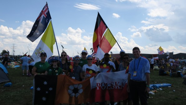 The NT group after the WYD Mass