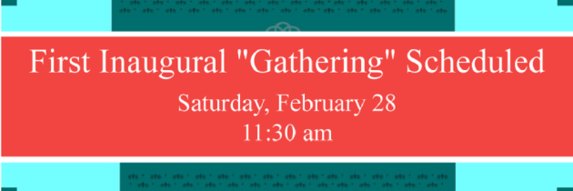 February 28, 2015 – First Inaugural Gathering of NTS West!
