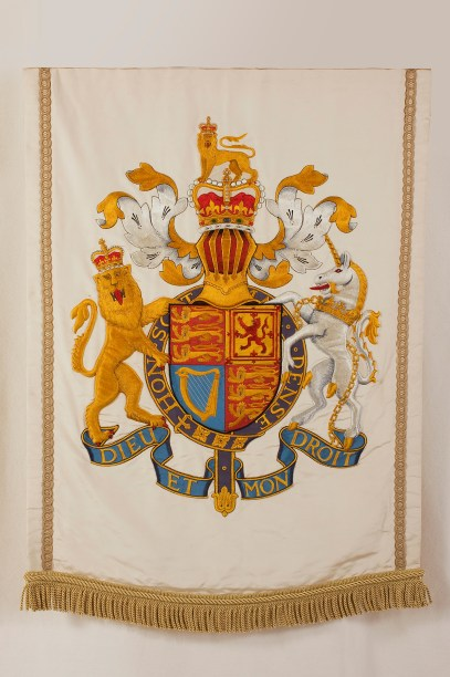 Royal Arms banner
