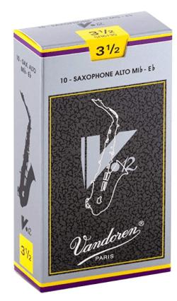 Vandoren V-12 Alto Sax Reeds, 3.5