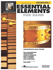 Essential Elements Book 1 Percussion