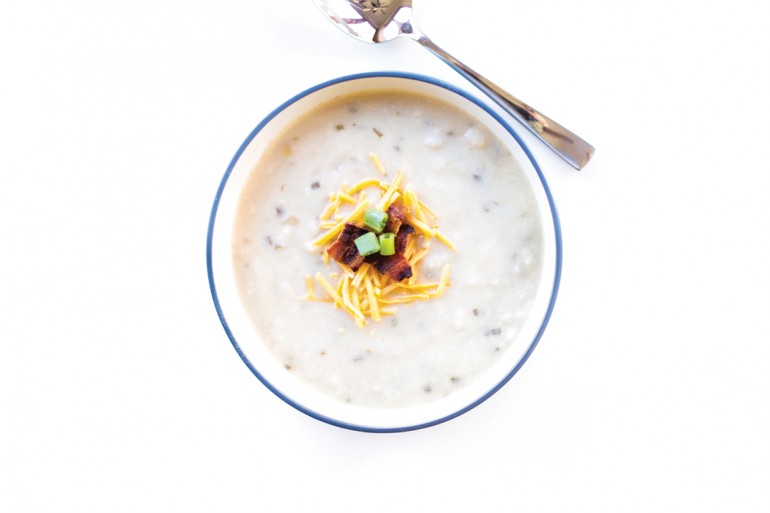 Loaded Potato Soup