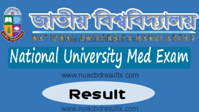 Med Exam Result