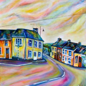 Streetscape in Clonakilty Town, West Cork - Saoirse O'Sullivan - Nua Collective - Artist Scaled