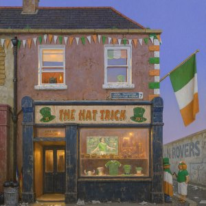 The Hat Trick Pub - Brian McCarthy - Nua Collective - Artist
