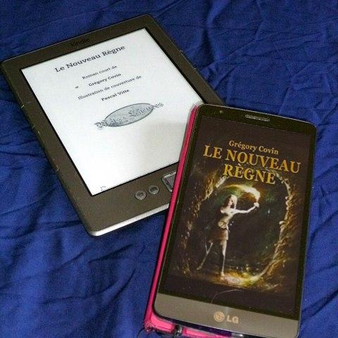 Couverture du roman : Le Nouveau Règne de Grégory Covin
