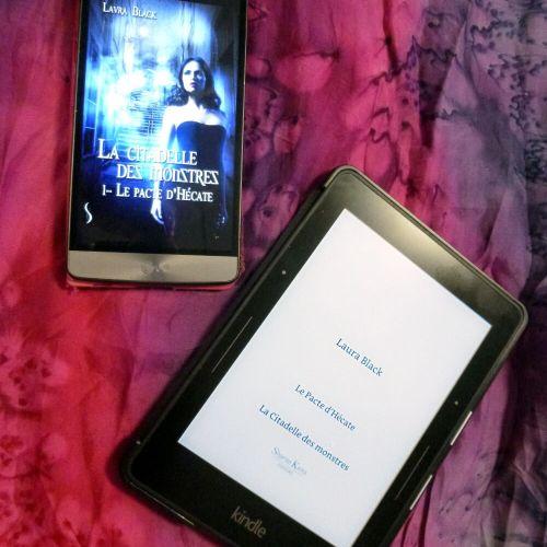 Couverture du roman : Le Pacte d'Hécate – Tome 1 de La citadelle des monstres – Laura Black
