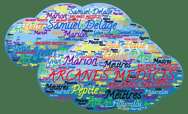 ARCANES MEDICIS Samuel Delage Italie Meutres Huis-clos Marion Yvan Art Pépite