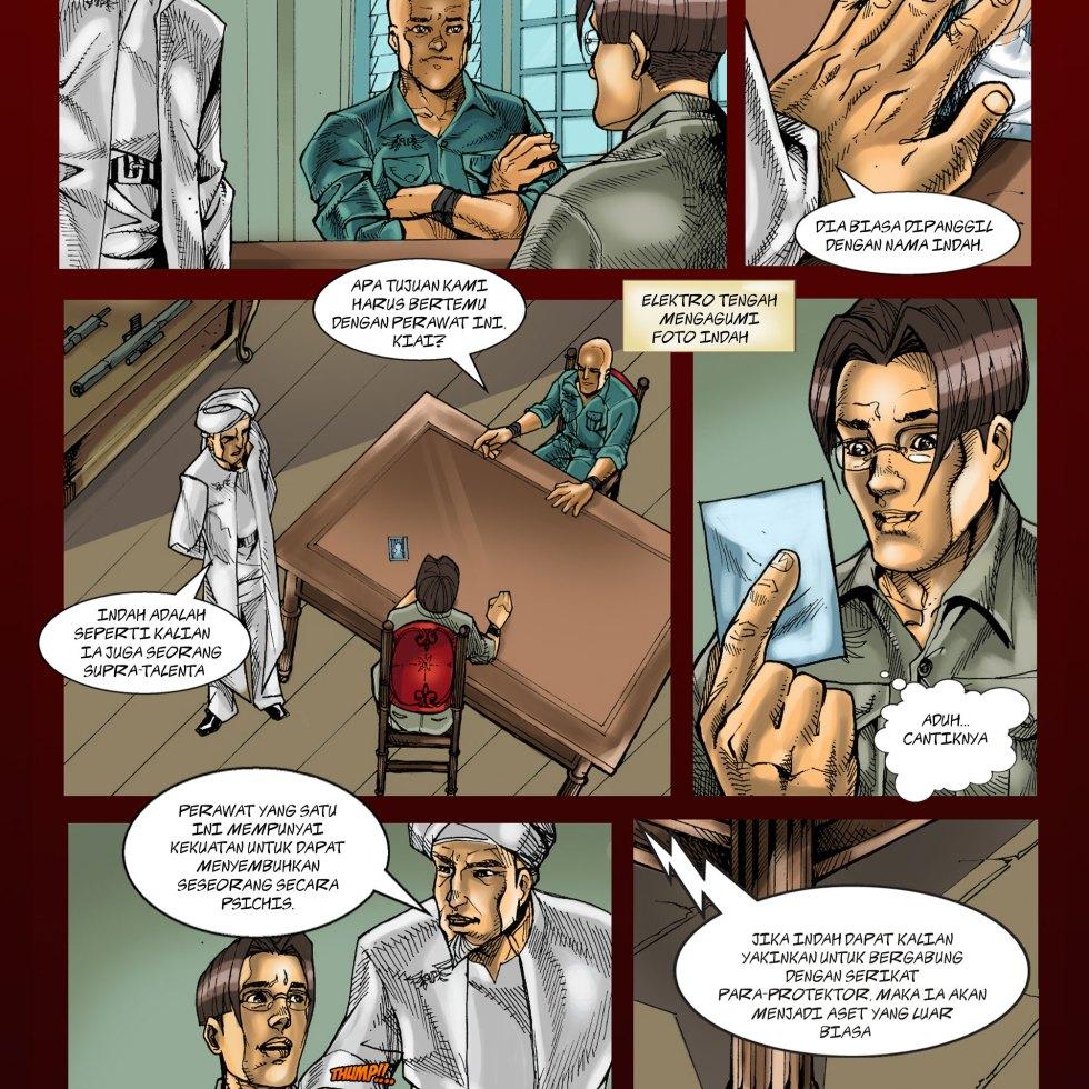 Komik Para-Protektor No. e2-010
