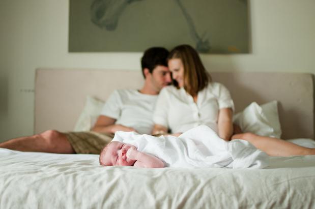 carta de un recién nacido a sus padres