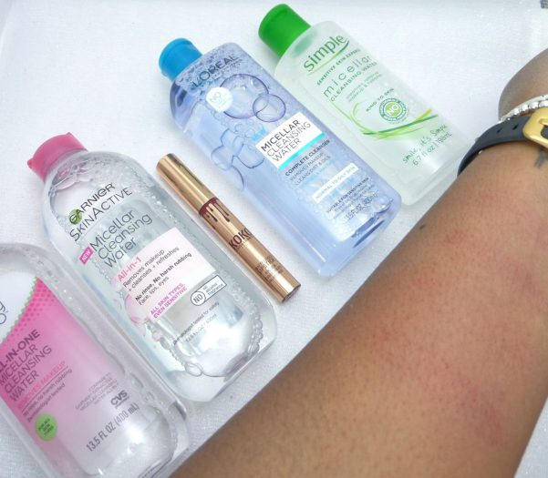 Micellar Waters test results