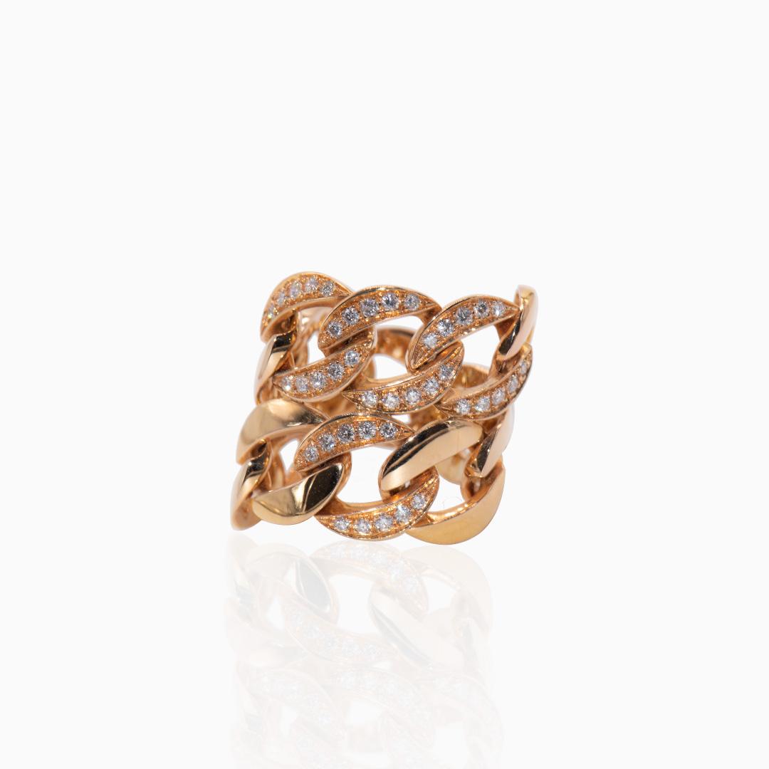 Anillo de Oro y Diamantes