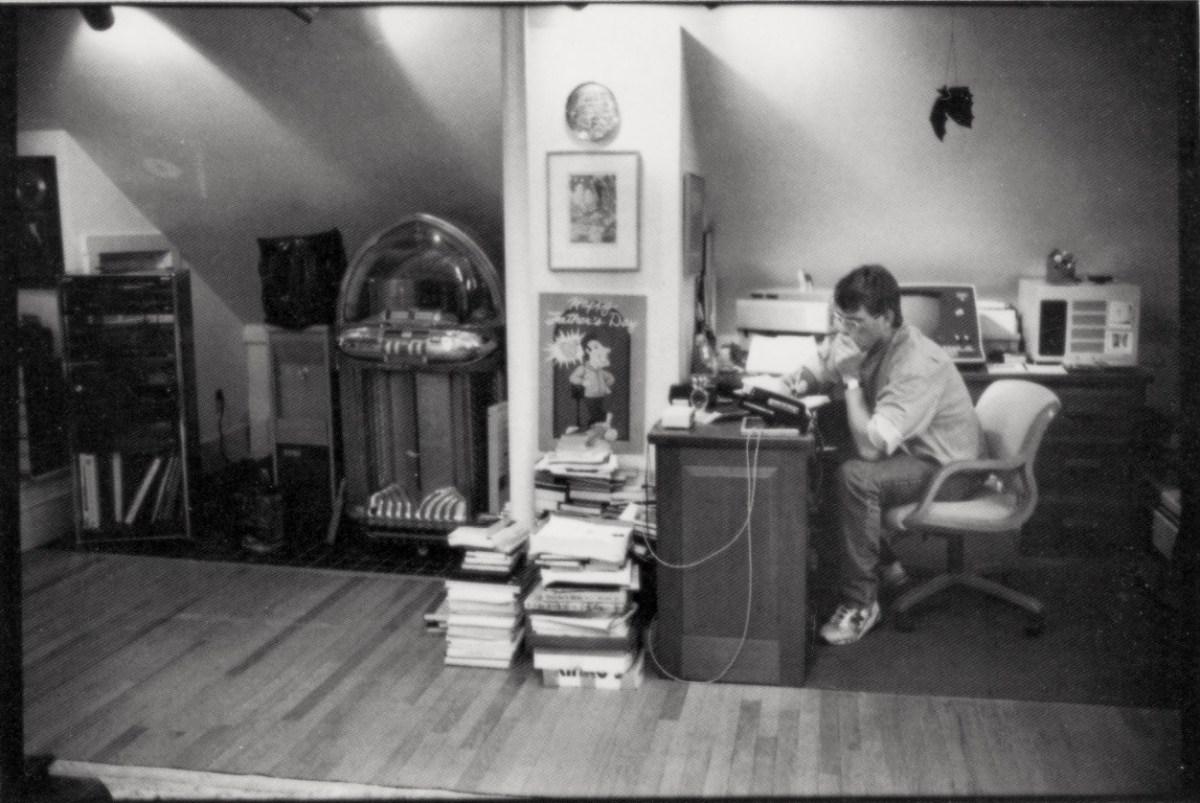 Stephen King sobre dónde poner el escritorio