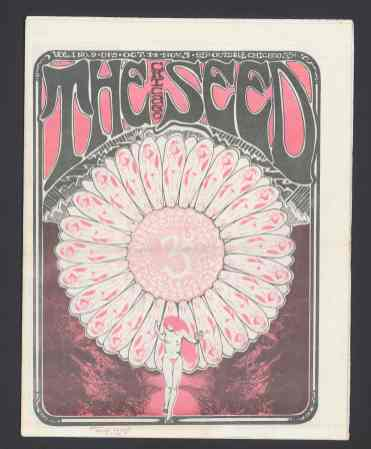 Cover of the Chicago Seed, vol. 1, no. 9, 1967. Charles Deering McCormick Library of Special Collections, Northwestern University Libraries