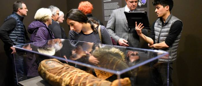 Opening Program: Behind the Scenes of Roman Egyptian Mummy Portraiture [Video]