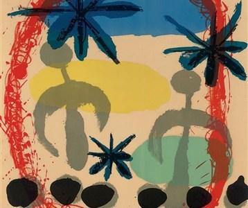 Collection Spotlight: Constellation Exhibit 1959, Joan Miró