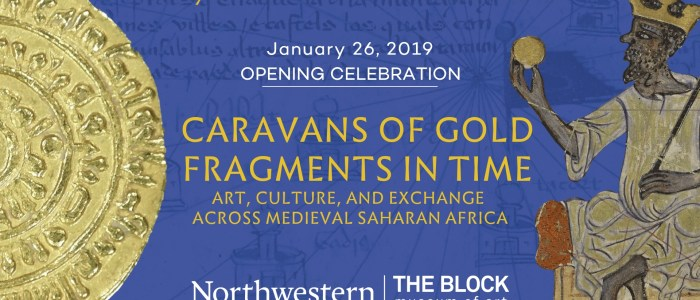 "Block Museum celebrates January 26th opening of ""Caravans of Gold"" [Video]"