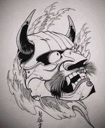 Significado De Los Tatuajes Hannya Iceman Ink