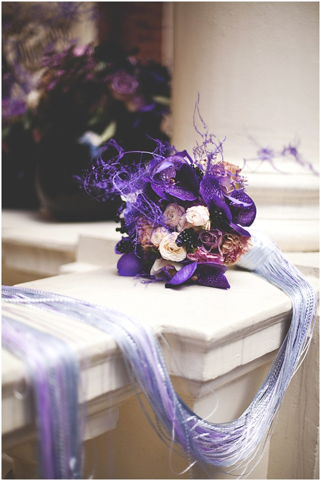 Purple Wedding Inspiration Velvet Orchid By The Flower