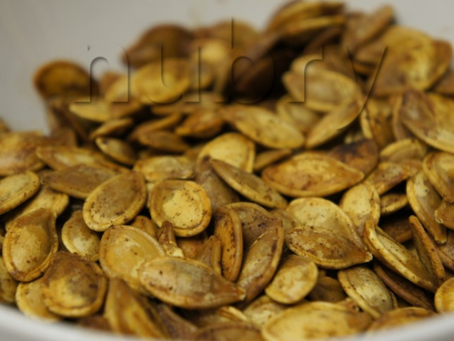 Toasted Pumpkin Seeds For Holidays