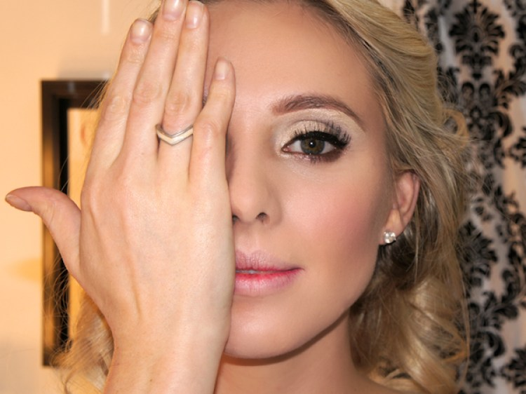 How To Do Stage Makeup for Miss California - Gretchen hackmann of Nubry