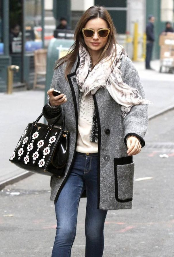 See How Celebrities Are Wearing The Sweater Coat This Winter  