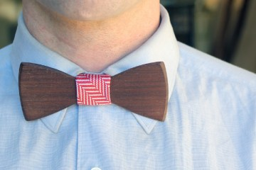 Two Guys Bow Ties Clip-On Bow Tie Valentines Day Gift For Boyfriend