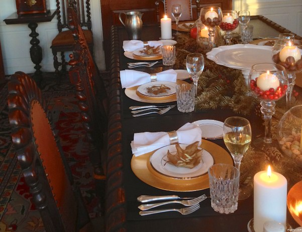 DIY thanksgiving table setting or seat setting nubry 12