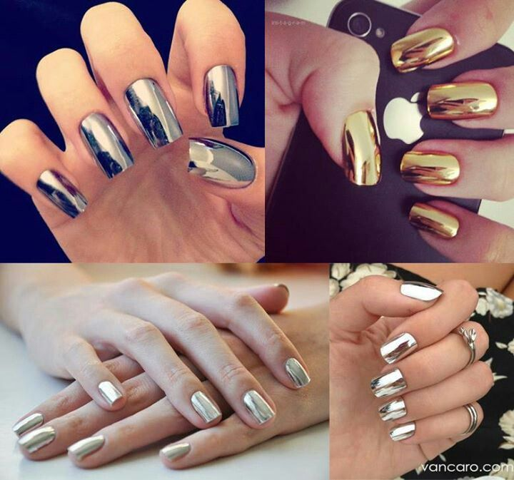 Nail design trends 5 winter manicures to try this season top nail design trends metallic prinsesfo Images