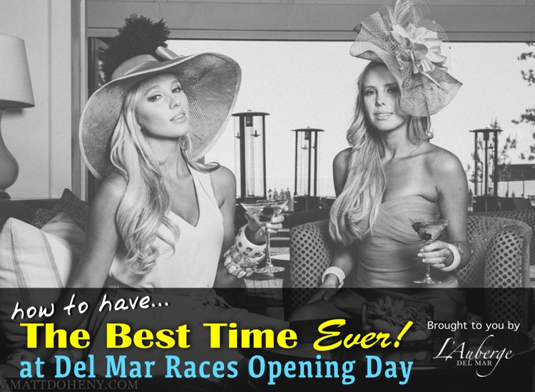 del mar races opening day - what to do - best time ever