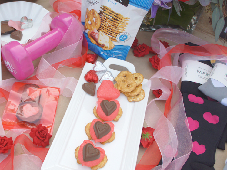 DIY one minute valentines day treats