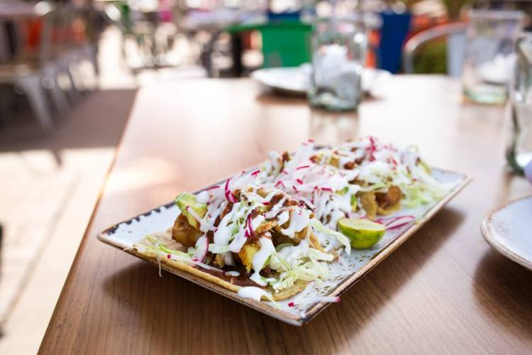 cincoteca 2015 party - tacos at puesto