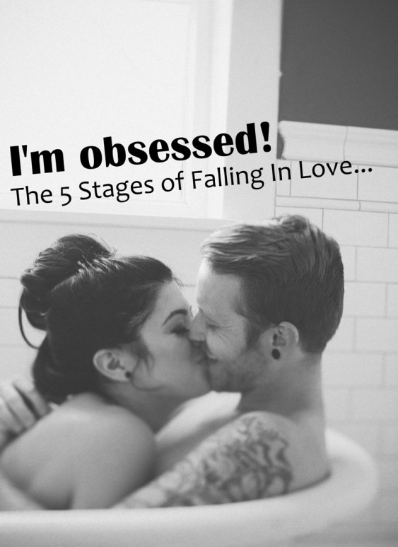 stages of romance and falling in love