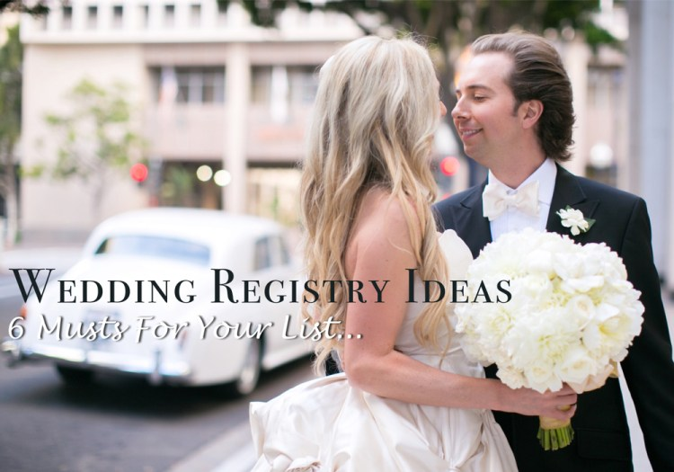 wedding registry ideas for bride to be