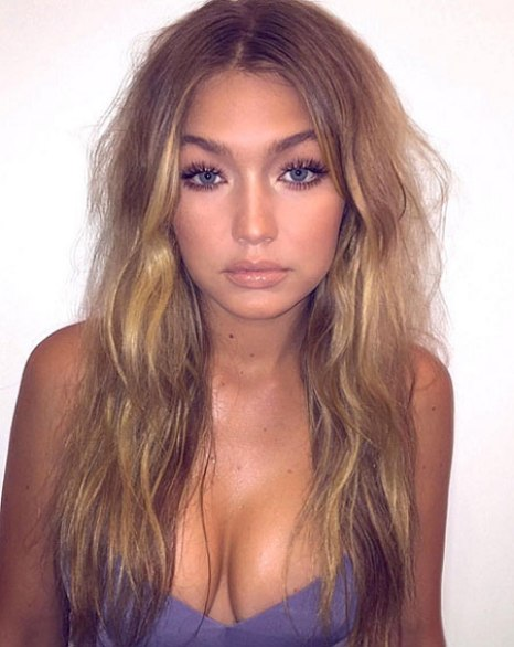 gigi hadid eyebrows