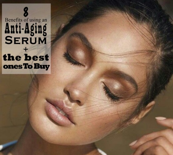 anti-aging serum benefits - youthful skin
