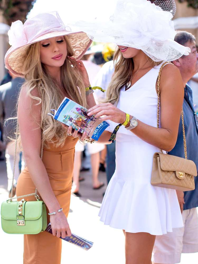 What to wear Opening Day Del Mar Races 3